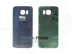 Genuine Samsung Galaxy S6 G920F Back Battery Cover Black - Part No: GH82-09549A